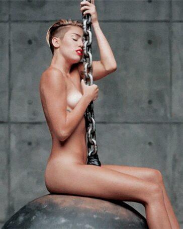 Miley Cyrus vídeo porno bola demolición