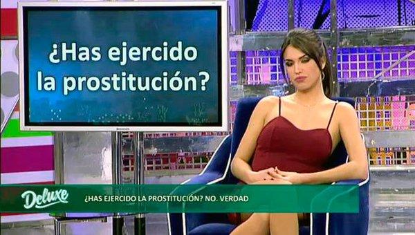 Sofía Suescun prostitución