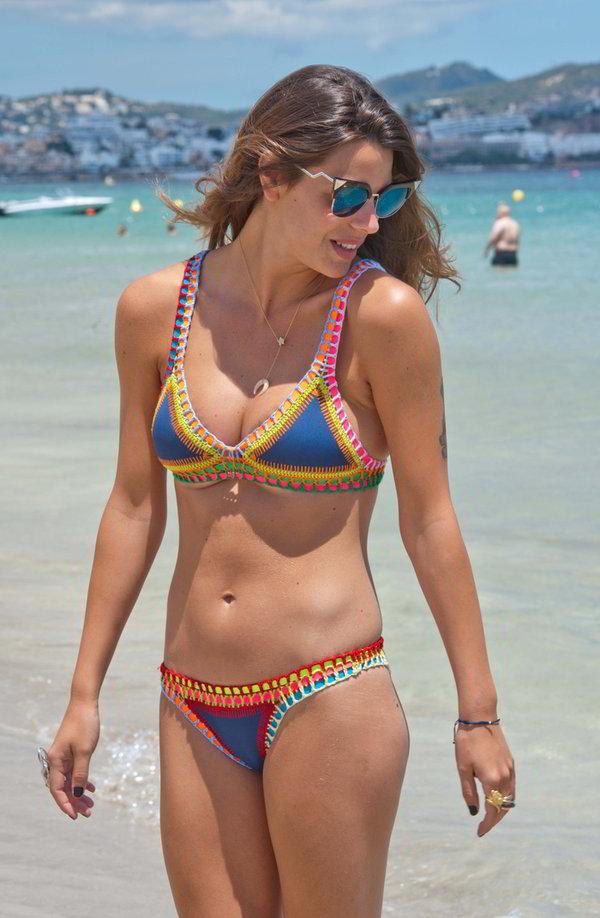 Laura Matamoros foto playa