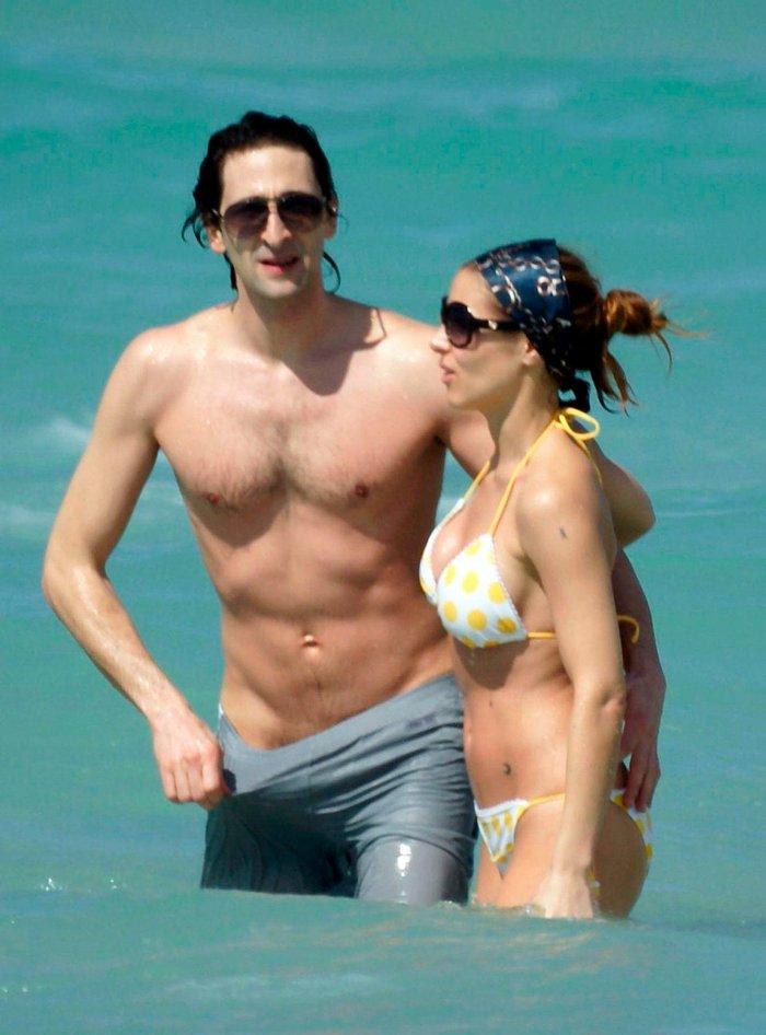 Elsa Pataky con Adrien Brody