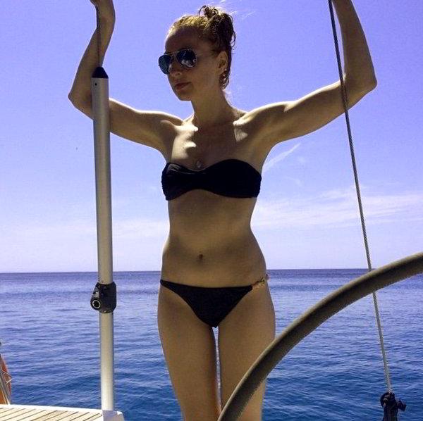 Cristina Castaño bikini