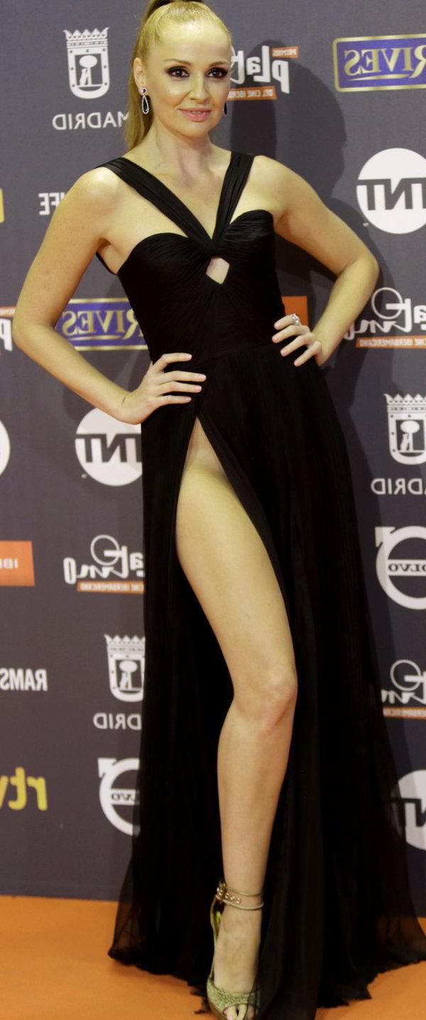Cristina Castaño ingle Premios platino