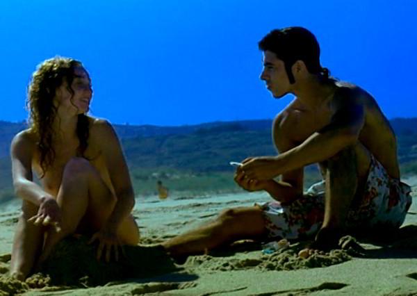 Cristina Castaño tetas playa