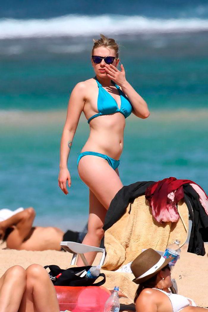 Scarlett Johansson en biquini
