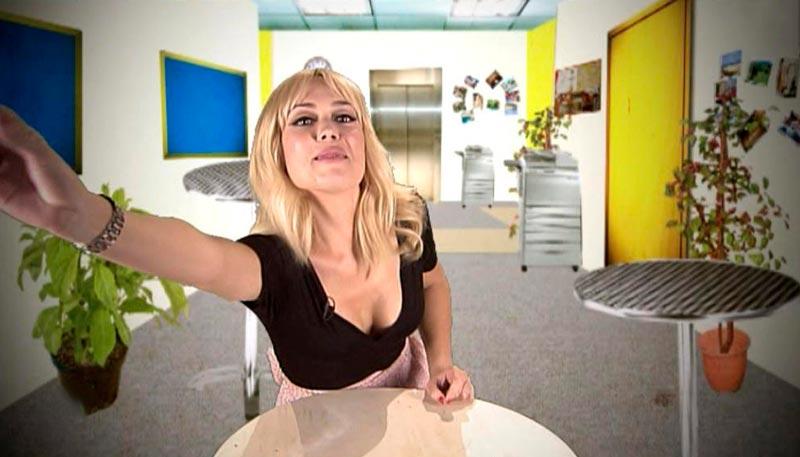 Patricia Conde Actriz Escote Camera Cafe
