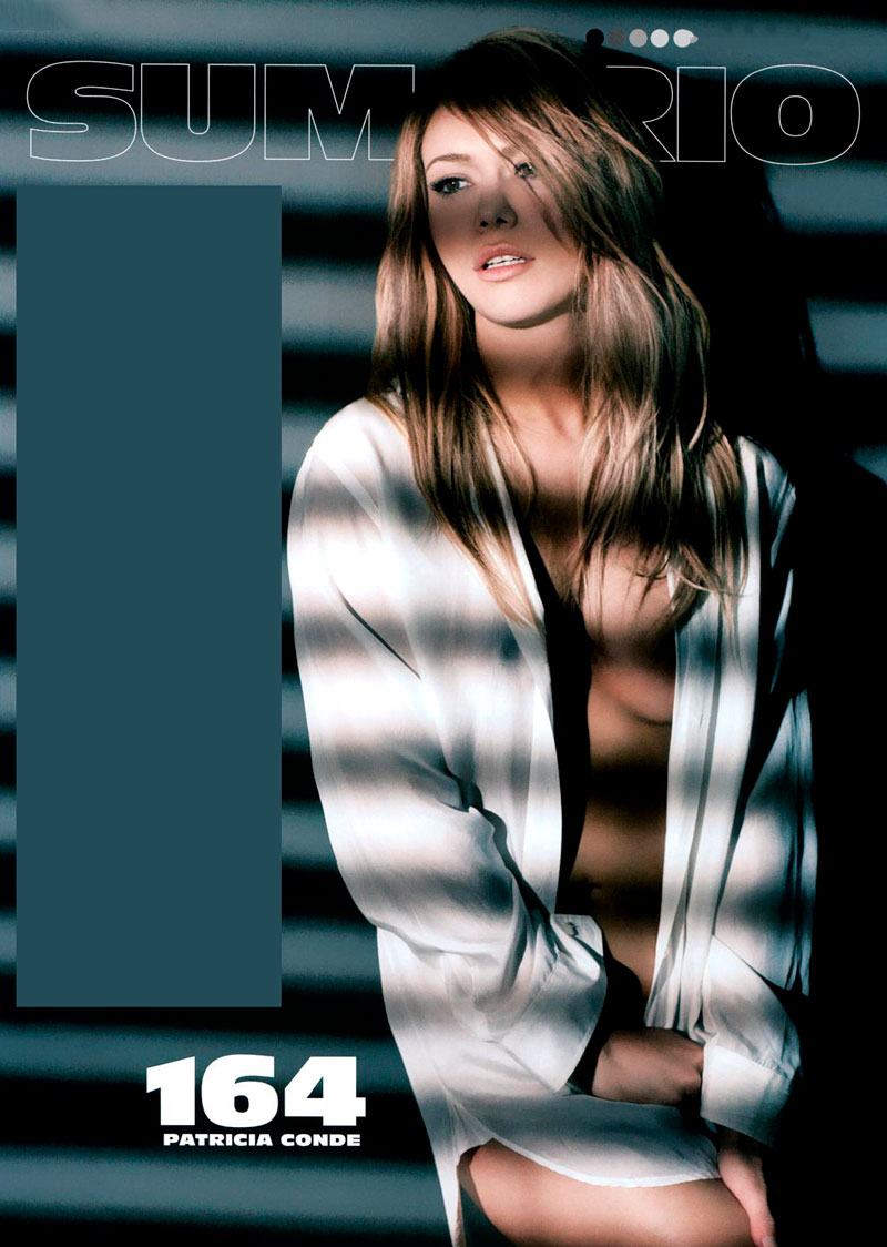 Patricia Conde Posado Sexy Revista Moda 3
