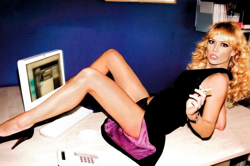 Patricia Conde Posado Sexy Revista Moda 7