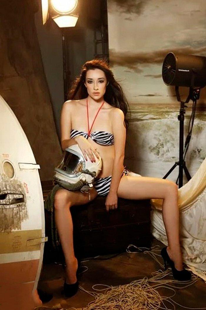 Adara Molinero sesión erótica con Maxim