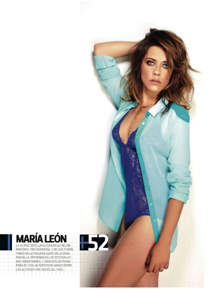 María León Posado Sexy Revista Dt