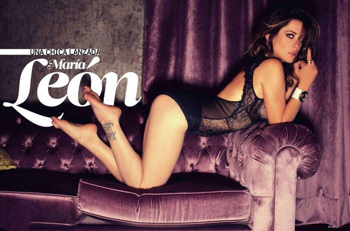 María León Sesión Fotográfica Lencería Revista Moda 3