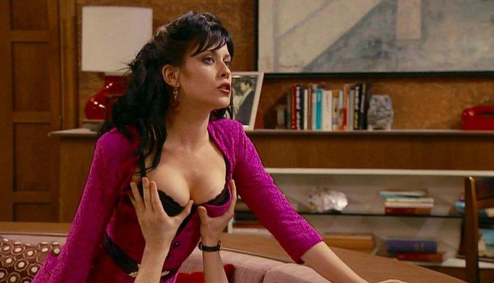 María León Sexy Sujetador Negro Series Televisión 3