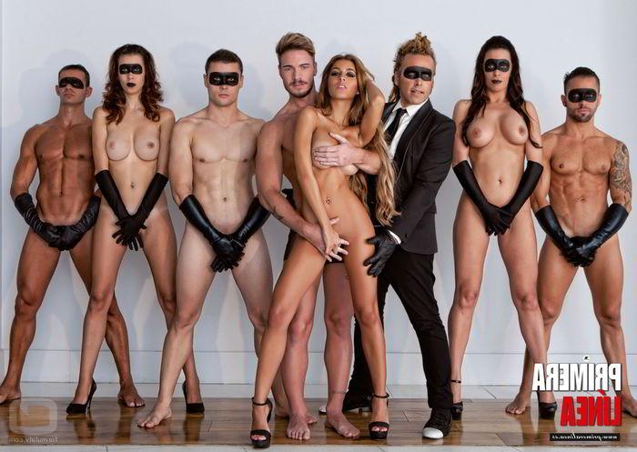 Oriana Marzoli desnuda con gente