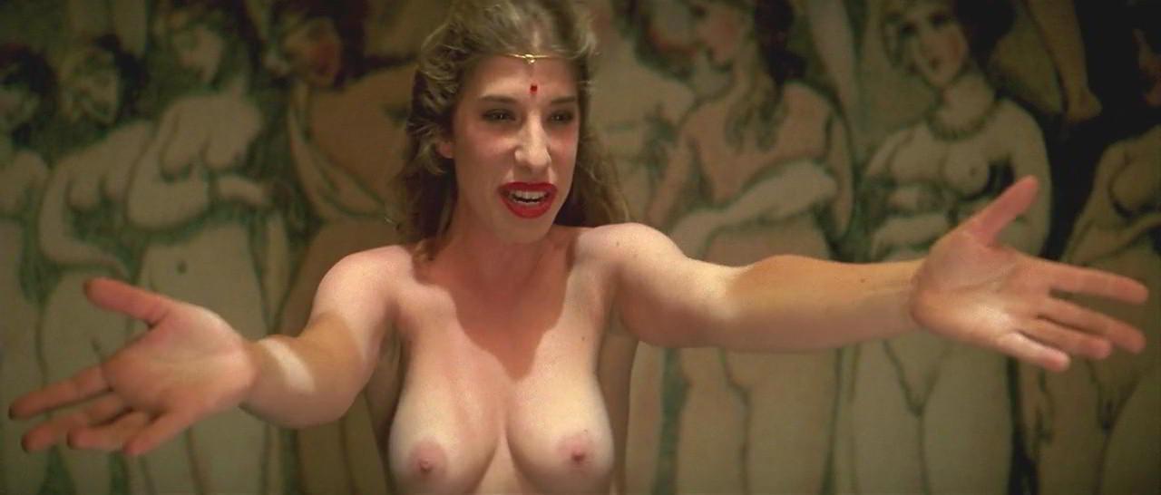 Nathalie Seseña Papel de puta con las tetas al aire