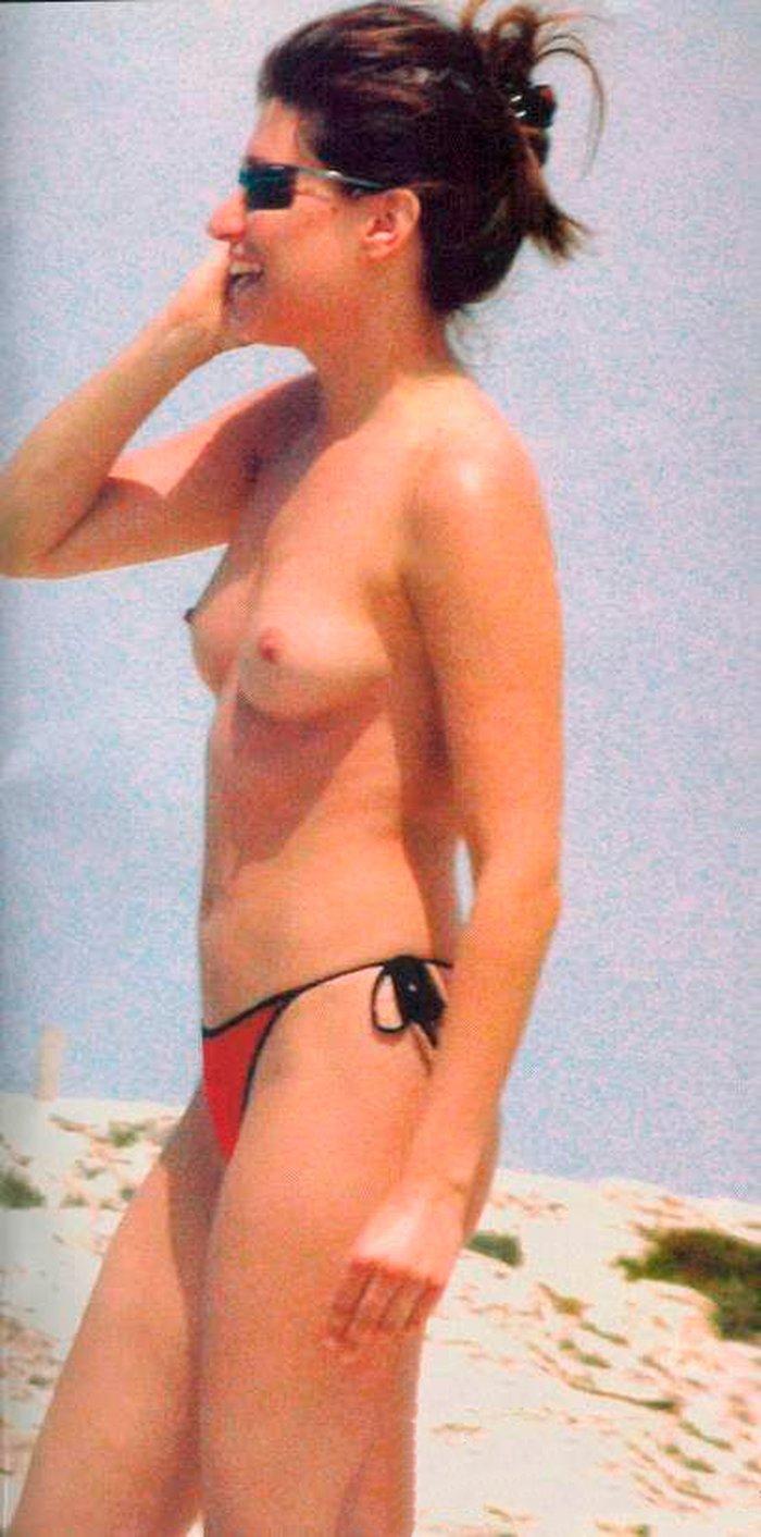 Sonia Ferrer cazada paparazzis fotos topless