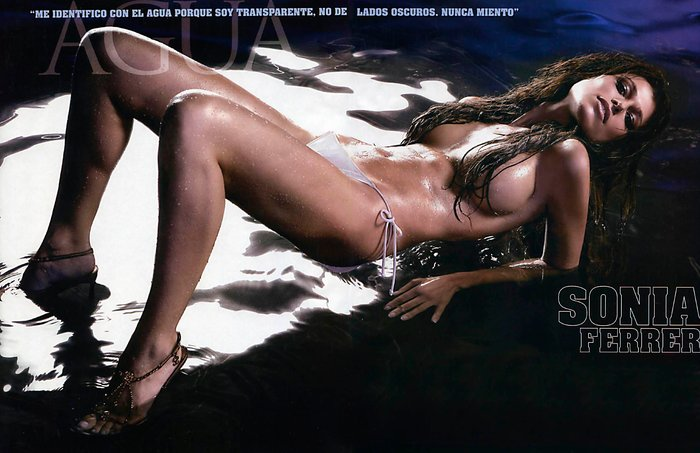 Sonia Ferrer desnuda reportaje Interviu