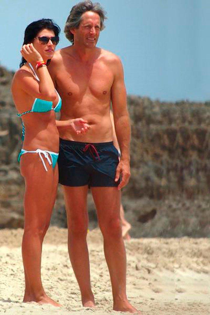 Sonia Ferrer junto exmarido Marco Vricella