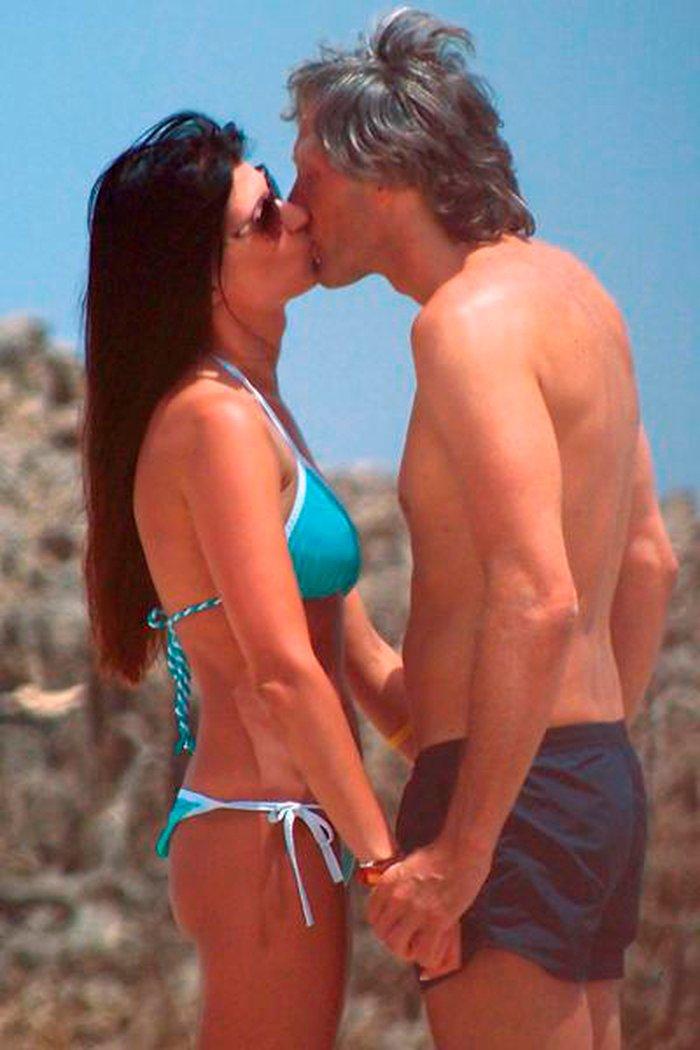 Sonia Ferrer pareja playa