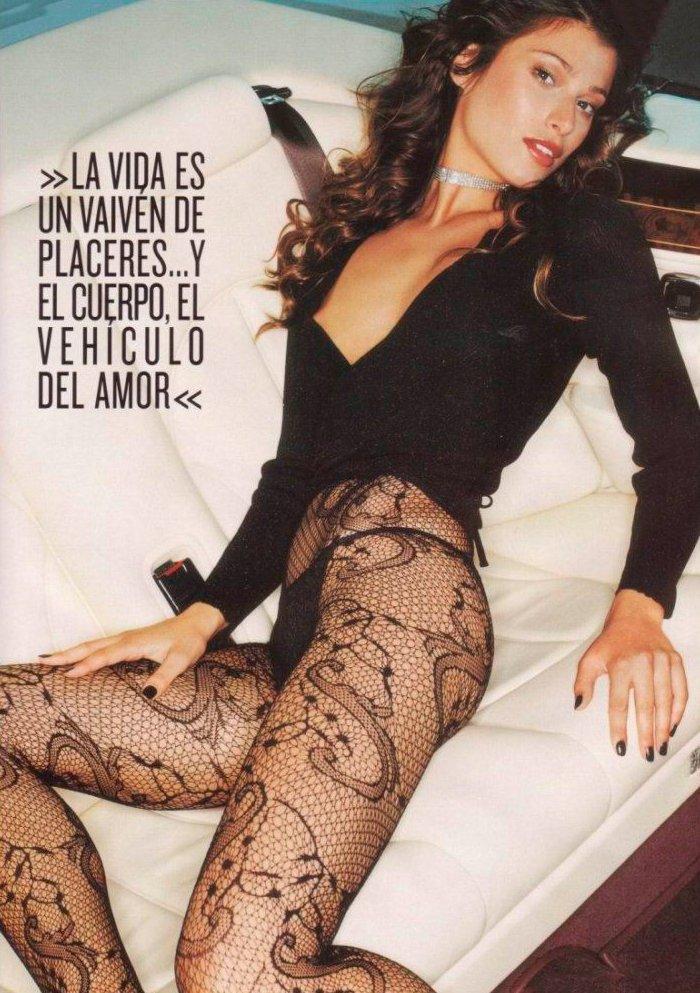 Sonia Ferrer posado erótico lencería