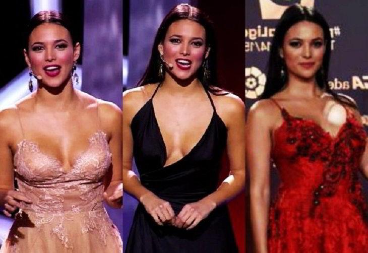 3 vestidos de la gala de noche