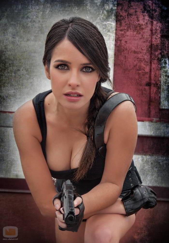 Disfrazada de Tomb Raider