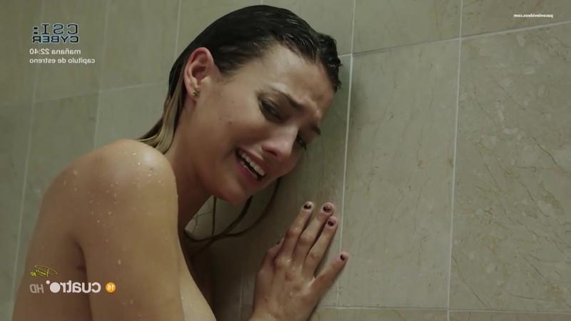 En la ducha serie Rabia