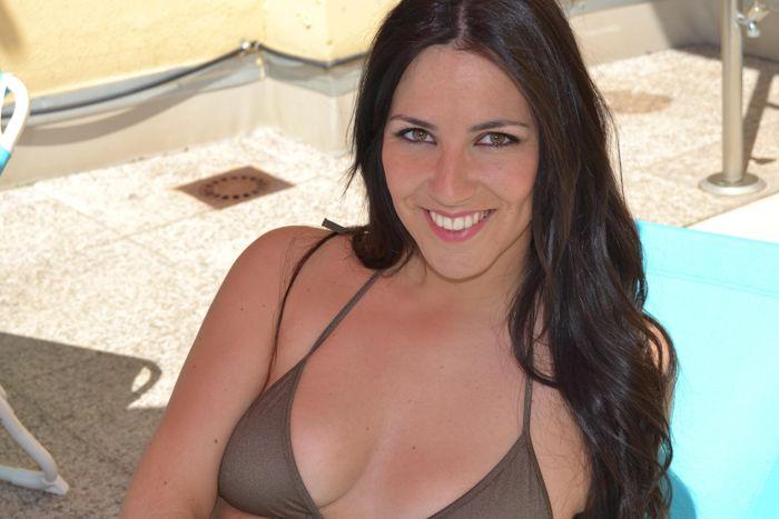 Irene Junquera en bikini