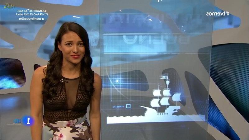 Programa TVemos y su presentadora hot