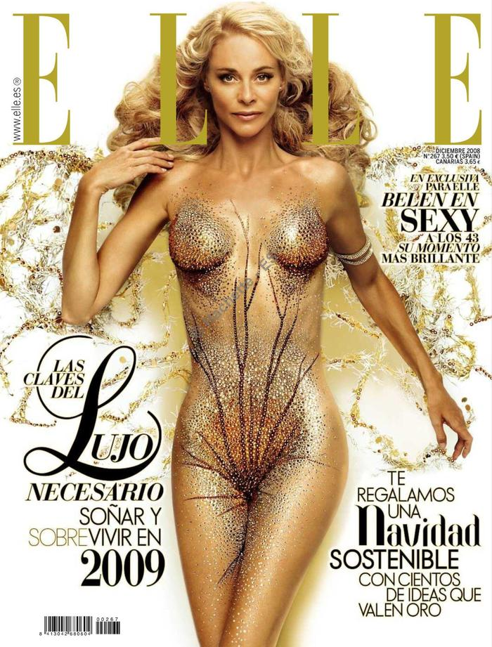 Belen Rueda portada Elle