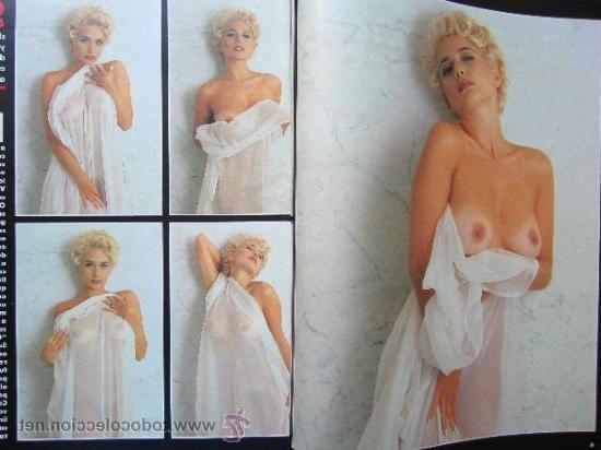Fotos eróticas de Marta Sánchez