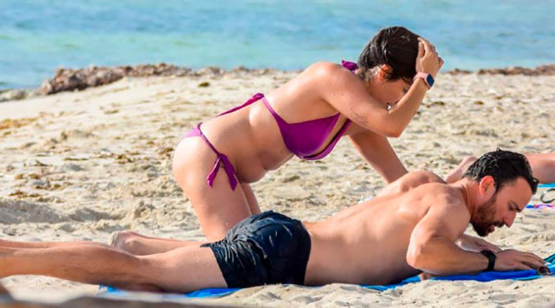 Irene Junquera Bikini Playa Novia Pablo Puyol 2
