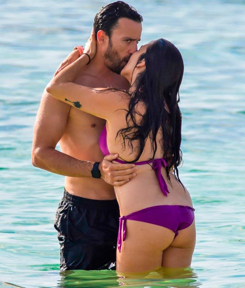Irene Junquera Bikini Playa Novia Pablo Puyol