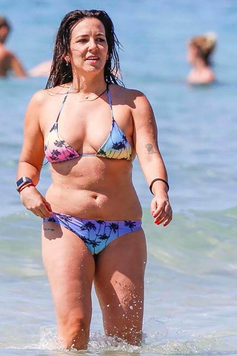 Irene Junquera Gorda Playa Cuerpo 2