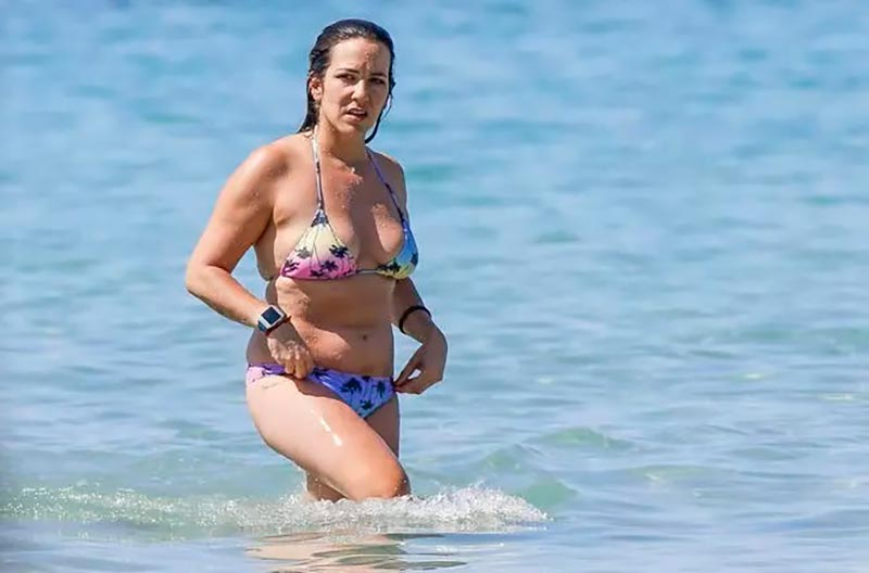 Irene Junquera Gorda Playa Cuerpo