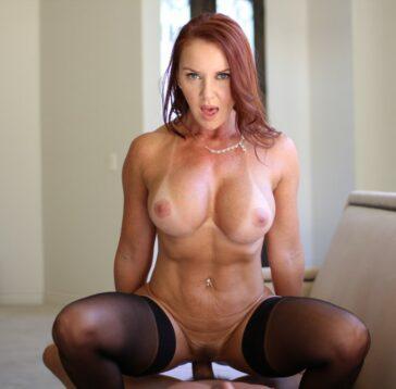 Janet Mason, la eterna madurita pelirroja