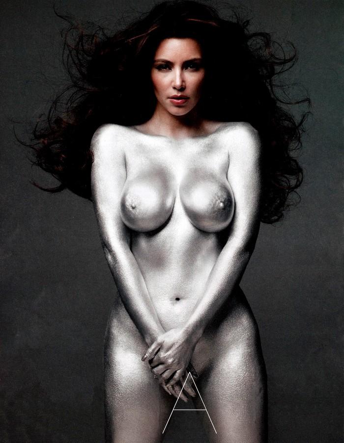 Kim Kardashian desnuda portada revista