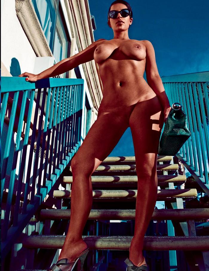 Kim Kardashian posado erótico