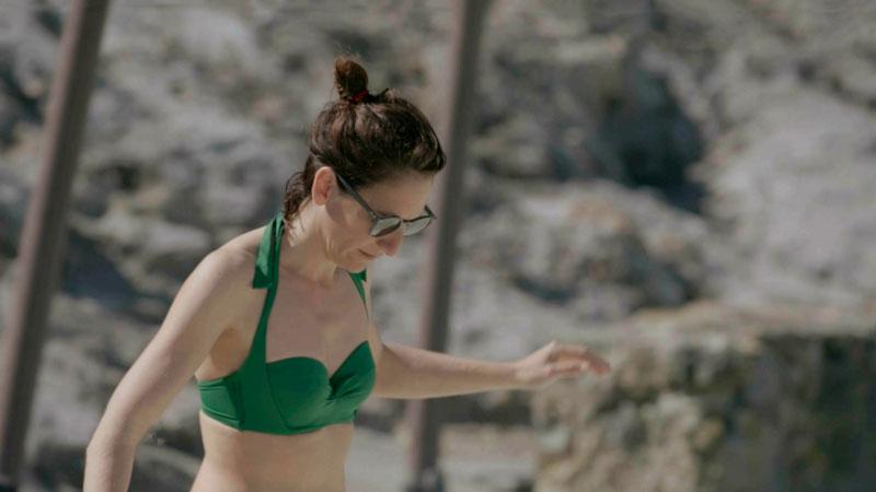 Malena Alterio Cuerpazo Bikini Televisión Calleja