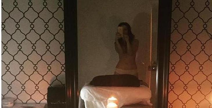 Selfie en Elegym masajes