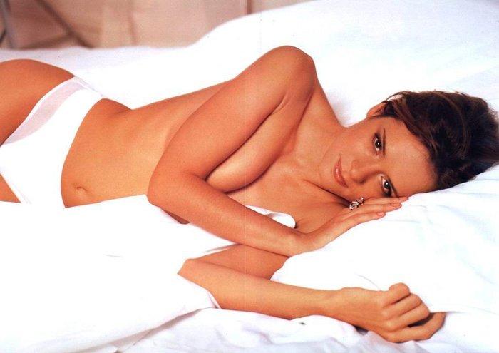 Eva Santolaria posado erótico revista Interviu 2