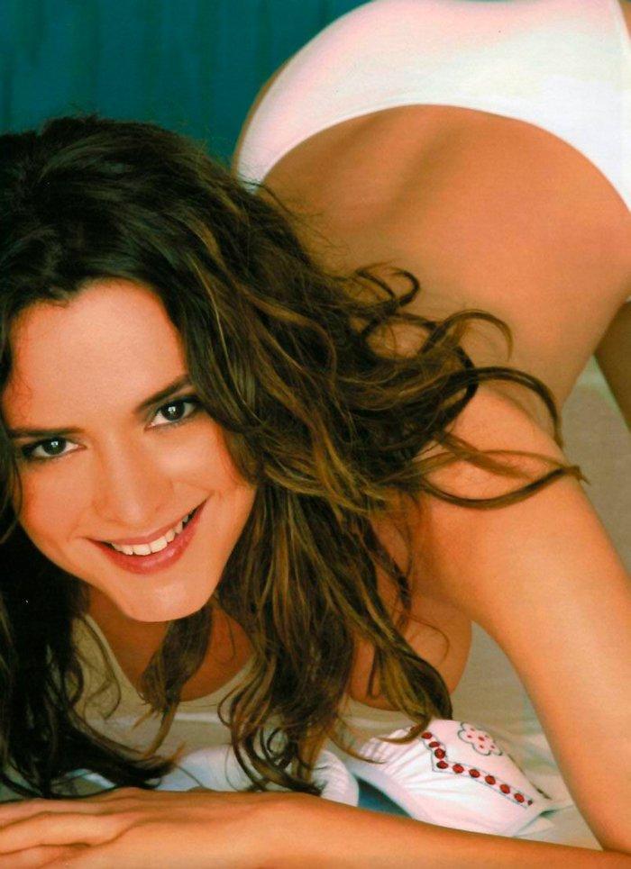 Eva Santolaria posado erótico revista Interviu 4