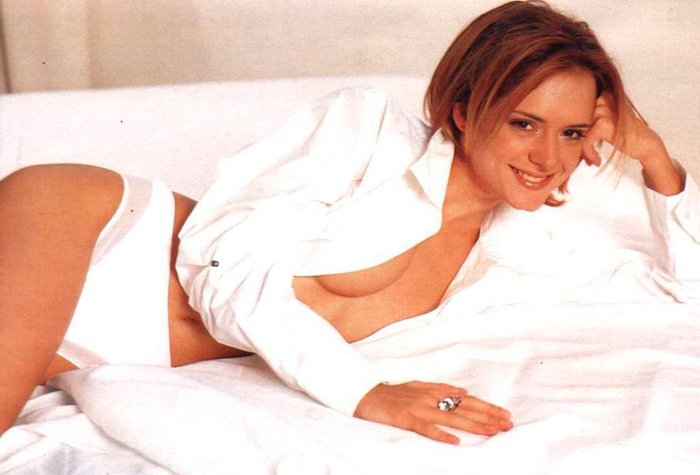 Eva Santolaria posado erótico revista Interviu