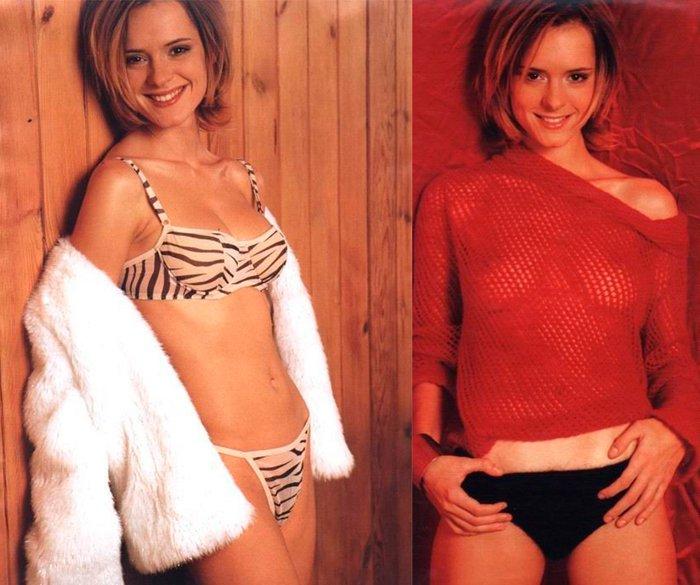 Eva Santolaria transparencias bikini sexy