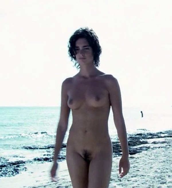 Girl nude in creek