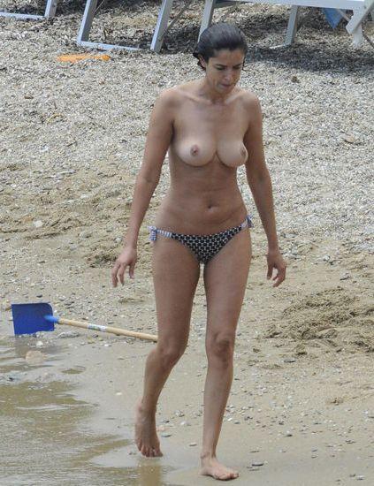 Topless Blanca Romero