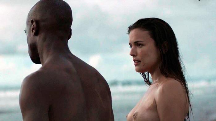 Adriana y su amante negro