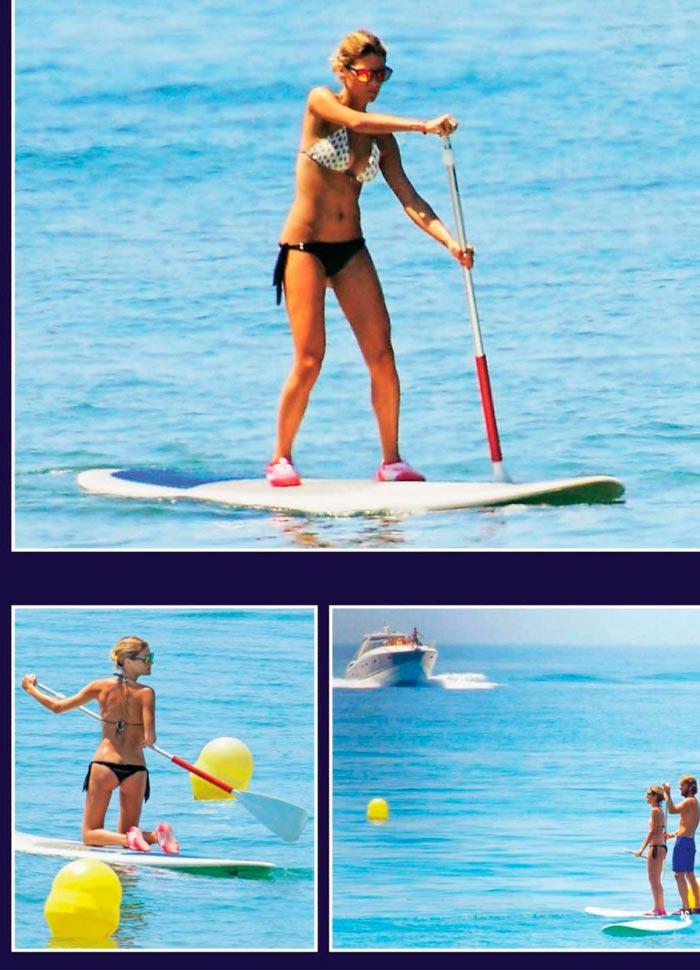 Amaia Salamanca Bikini Surf Vacaciones