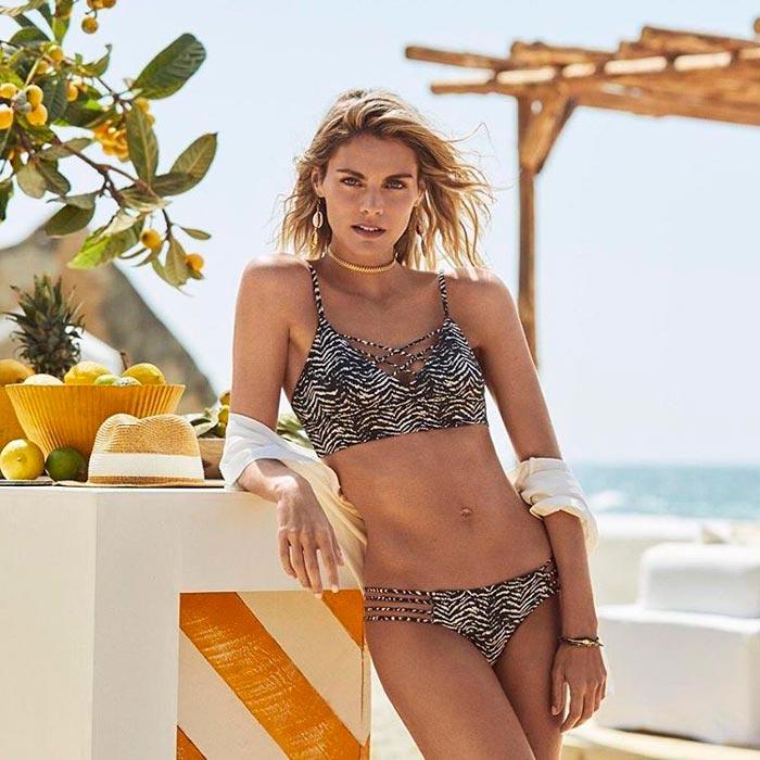 Amaia Salamanca Cuerpazo Bikini Revista Moda 2