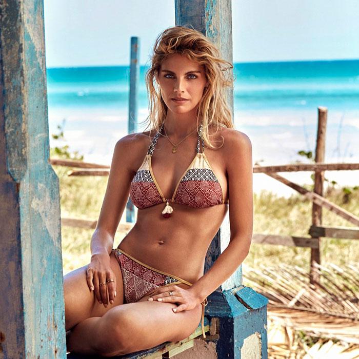 Amaia Salamanca Cuerpazo Bikini Revista Moda 4