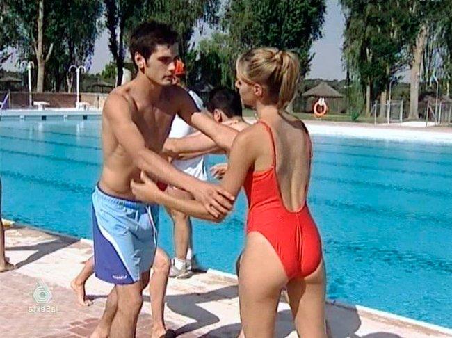 Amaia Salamanca piscina