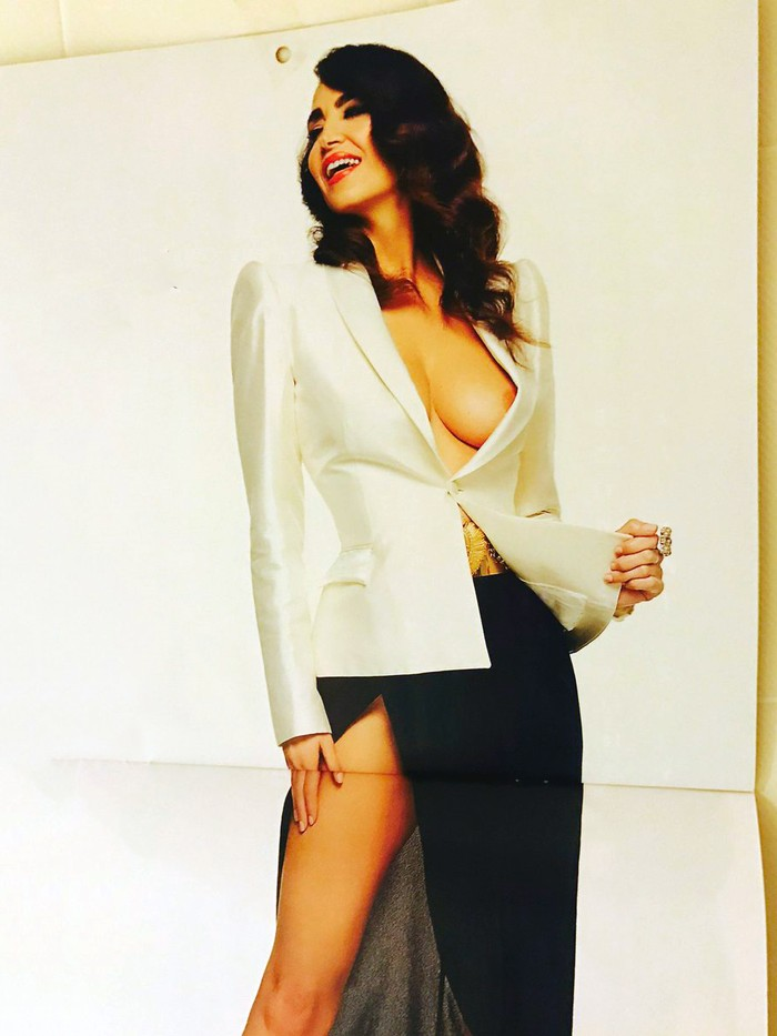 Foto calendario erótico Cristina